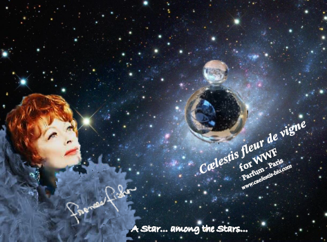 Cælestis organic luxury perfume for WWF endorsed by Frances Fisher
