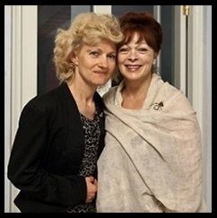 Frances Fisher & Grazyna Lallemand - founder of Cælestis