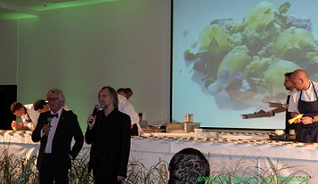 TRANSATLANTYK 2012 - Jan A.P. Kaczmarek & Thomas Struck opening of the Culinary Cinema